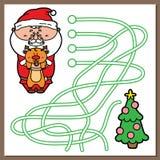 Santa game. Stock Images
