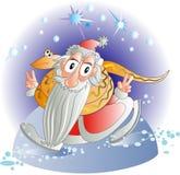 Santa ganará Imagen de archivo libre de regalías