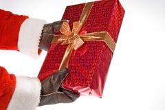 Santa gift Stock Image