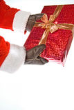 Santa gift Royalty Free Stock Photography
