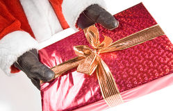 Santa gift Royalty Free Stock Images