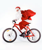 Santa with gifts Royalty Free Stock Photography