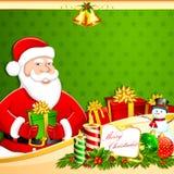 Santa with Gifts Royalty Free Stock Photo