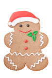 Santa Gingerbread Man Stock Images