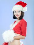 Santa girl Royalty Free Stock Photo