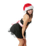 Santa-girl Stock Photography
