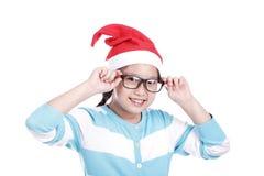 Santa Girl Fotos de archivo