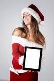 Santa Girl imagem de stock royalty free