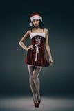 Santa girl fantasy Stock Photos