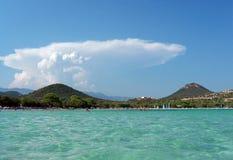 Santa giulia beach Stock Photo