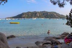 Santa-Giulia beach royalty free stock images