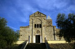 Santa Giusta, Sardinia. Royalty Free Stock Photography