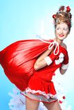 Santa Glamourous fotos de stock royalty free