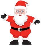 Santa. A graphic Santa Claus isolated on white Stock Photos