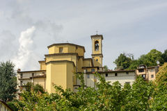 Santa Grata church, Bargamo Royalty Free Stock Photography