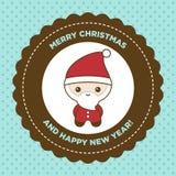 Santa Greeting Card Royalty Free Stock Image