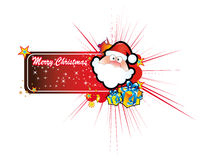 Santa Greetings Card Royalty Free Stock Photos