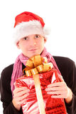 Santa guy Stock Image