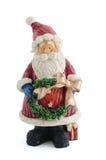 Santa ha modellato l'ornamento Fotografia Stock