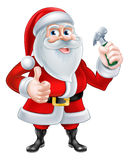 Santa Handyman royaltyfri illustrationer