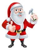 Santa Handyman Royalty Free Stock Photography
