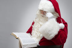 Santa has Faith Royalty Free Stock Image