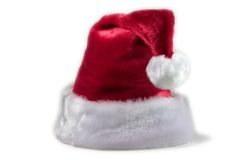Santa hat. Isolated Santa hat on white background Stock Image