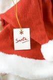 Santa Hat Immagine Stock Libera da Diritti
