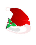 Santa Hat Foto de Stock Royalty Free