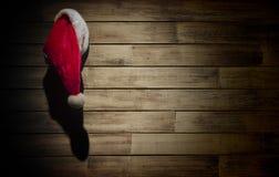 Santa Hat Hanging Royalty Free Stock Photography