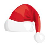 Santa hat illustration Royalty Free Stock Photography