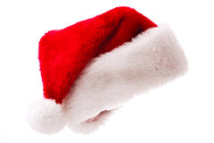 Santa hat isolated on white Royalty Free Stock Photo