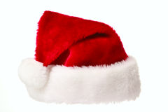 Santa hat isolated on white Royalty Free Stock Photography