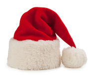 Santa hat isolated on white background Royalty Free Stock Images