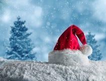 Santa hat for merry xmas Royalty Free Stock Photos