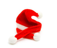 Santa hat and scarf Stock Image