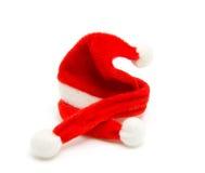Santa hat and scarf Stock Image