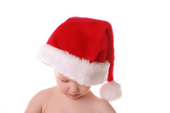 Santa hat straight down Royalty Free Stock Photography