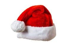 Santa hat on white Stock Photography
