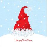 Santa hats Stock Image