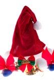 Santa hatt arkivfoton