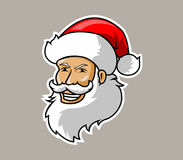 Santa head Royalty Free Stock Images