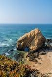 Santa Helena beach portugal Royalty Free Stock Images