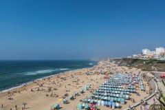 Santa Helena beach portugal Stock Photos