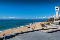 Santa Helena beach in Santa Cruz, Portugal. Stock Photography
