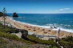 Santa Helena beach in Santa Cruz, Portugal. Royalty Free Stock Photo