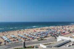 Santa Helena strand Portugal Arkivfoto