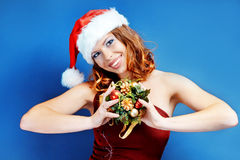 Santa helper Royalty Free Stock Images