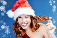 Santa helper Stock Image
