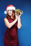 Santa helper Royalty Free Stock Photography